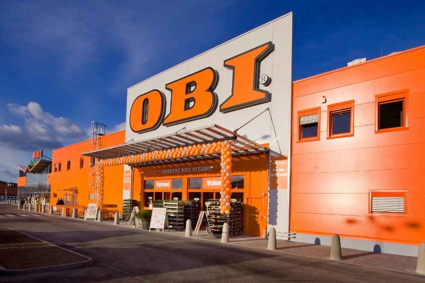 Купить стройматериалы в OBI