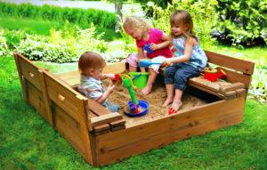 Песочница для детей своими руками