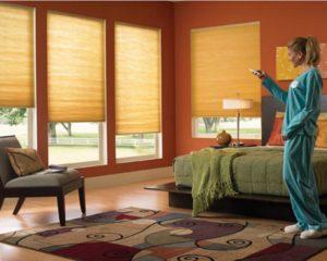 Подъемные умные шторы
