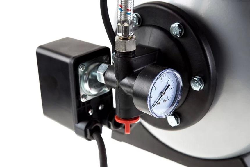 Автоматика - Реле давления с манометром