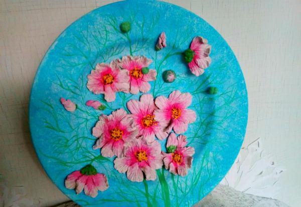 Чем заняться - украсить тарелку