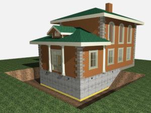 фундамент- основа дома