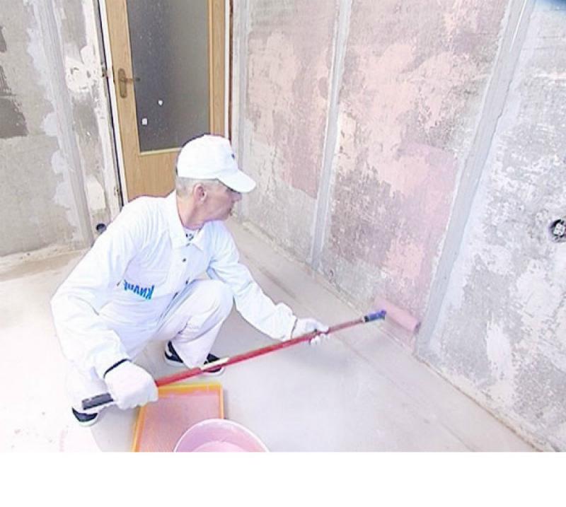 Грунтование бетоноконтактом