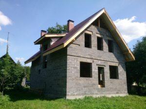 Керамзитобетонные блоки - дом