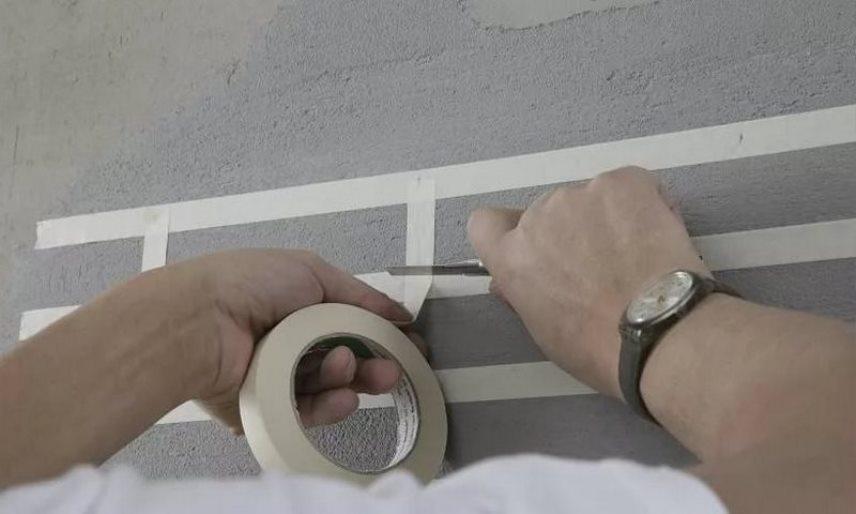Лайфхак - отделка стены кирпичиками