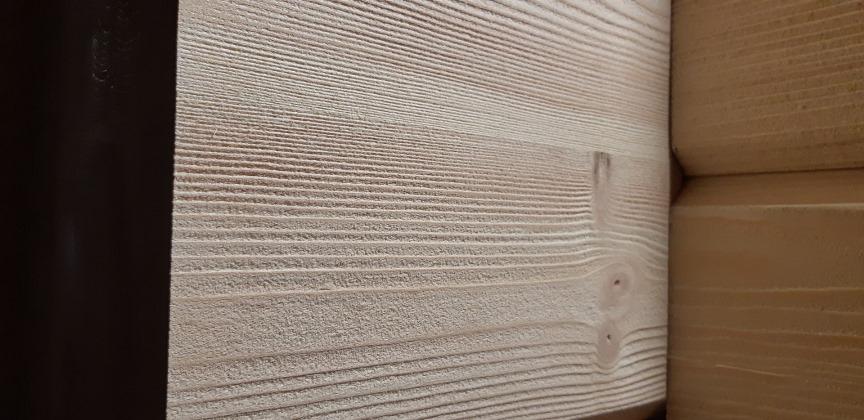 Пескоструйная шлифовка - фактура дерева