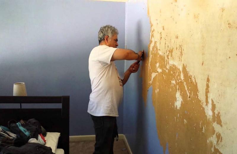 Покраска стен только по подготовленной поверхности