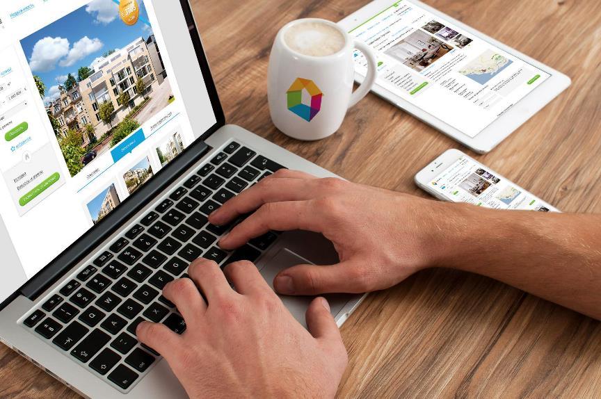 Выбор квартиры в интернете