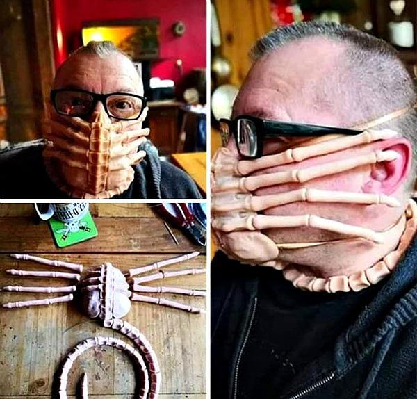 Защитная ли маска