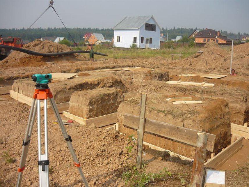 Построить дом - начало строительства