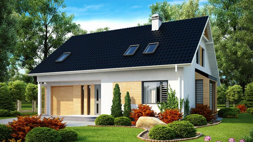 Построить дом с мансардой