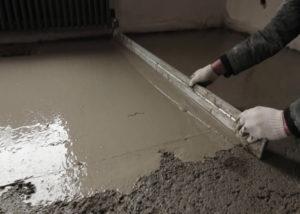 Делаем бетонную стяжку пола по правилам, поэтапная инструкция