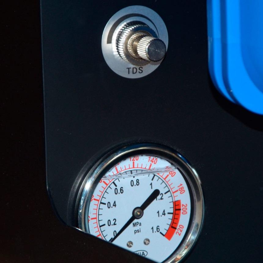 Водяной фильтр - регулировка и манометр