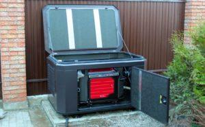 Дизель-генератор с шумозащитным кожухом