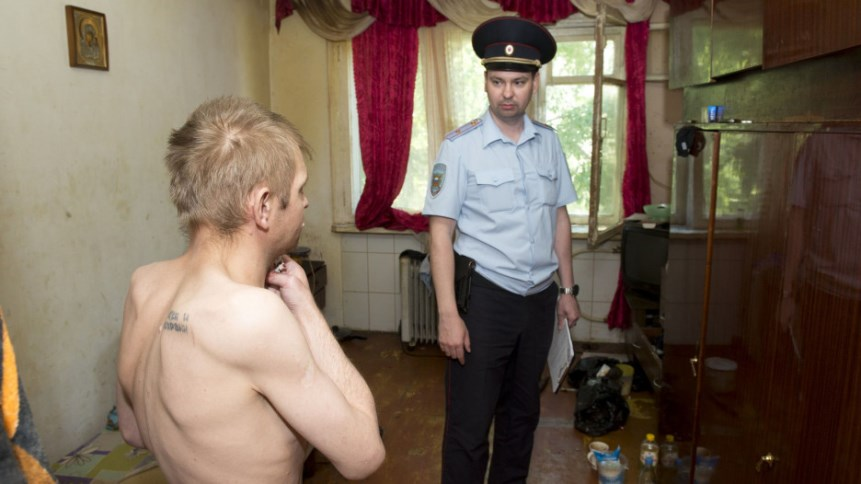 Полиция в квартире