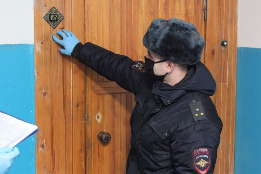 Соседи достали - полиция