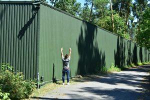 Забор и его высота
