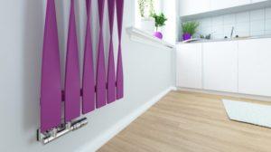 Дизайнерский радиатор, отопление