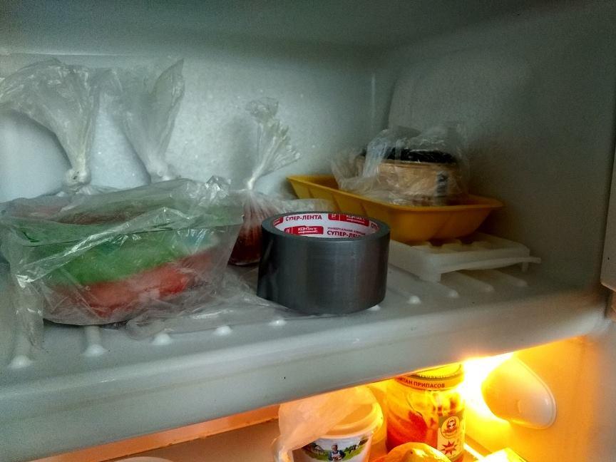 Скотч в морозилке