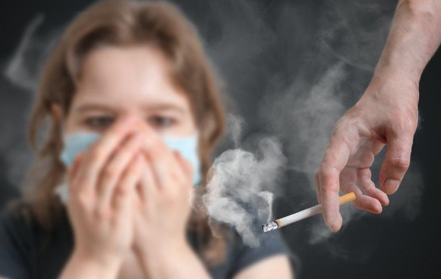 Запах от сигареты