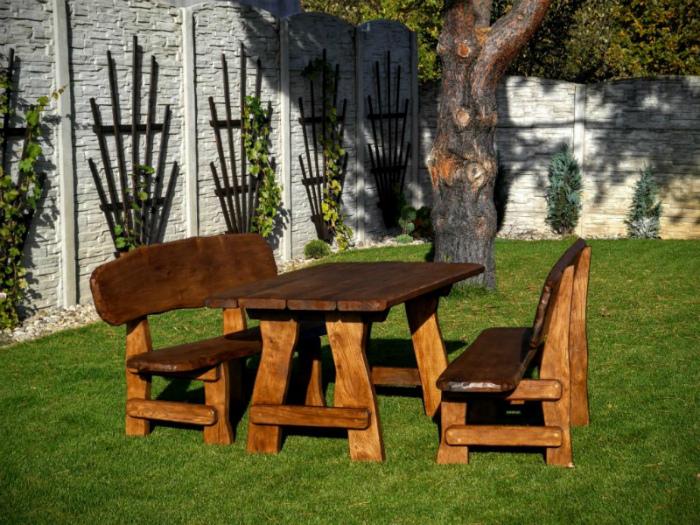 защитить участок - садовая мебель