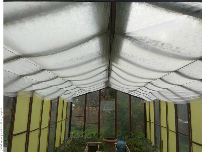Лутрасил под потолком