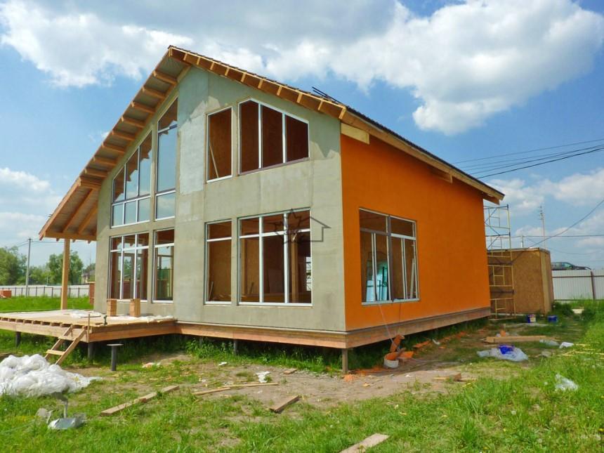 Строительство дома, СИП панели