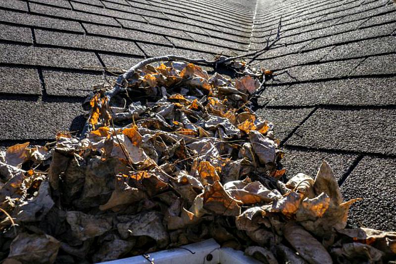 Уход за крышей-уборка мусора