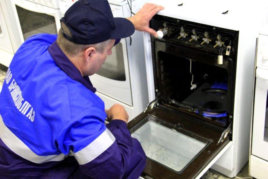 Проверка газовой плиты