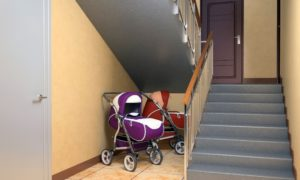 Запрет на хранение под лестницей