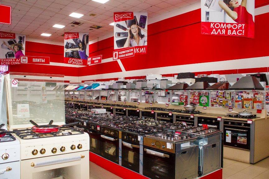 Газовые плиты в магазине