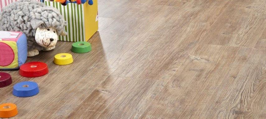 Кварцвиниловый пол в детской