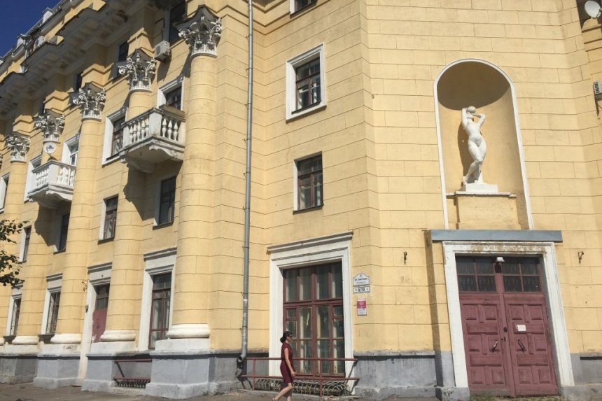 Дом сталинка