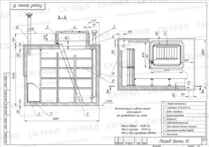 Схема Погреб Уралец-10 Стандарт и Премиум