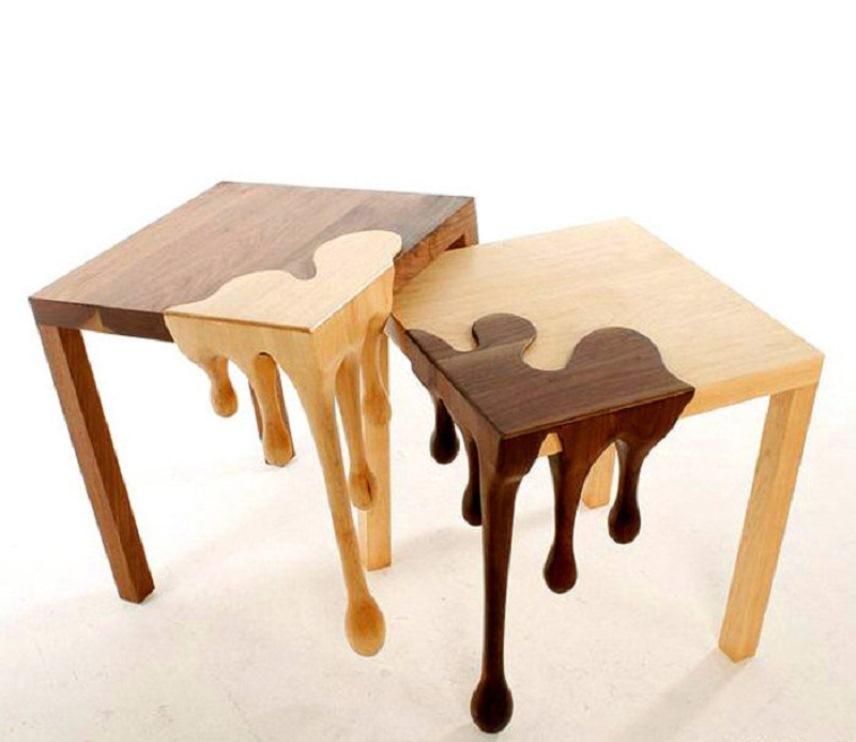 Отделка мебели из жидкого дерева
