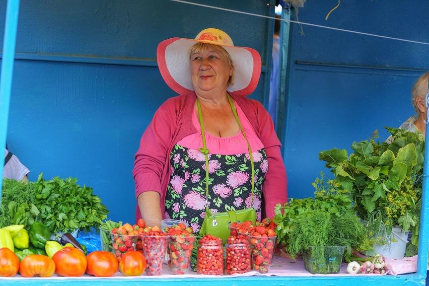 Дачник продает овощи, штраф
