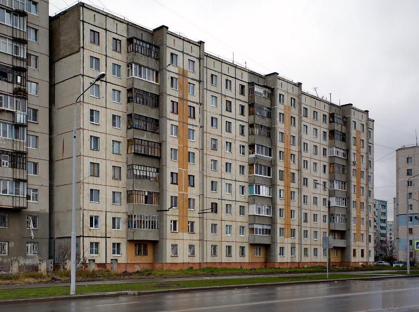 девятиэтажки, панельные дома