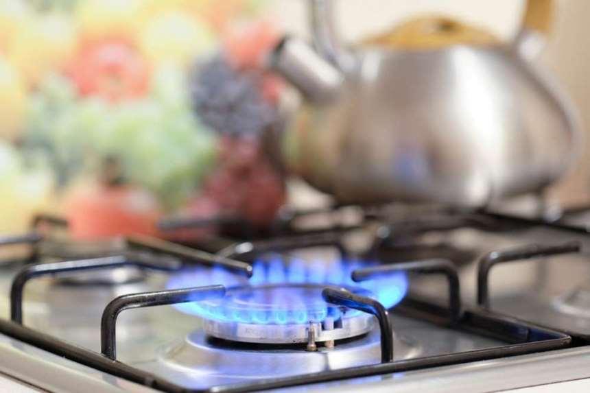 Плита, природный газ
