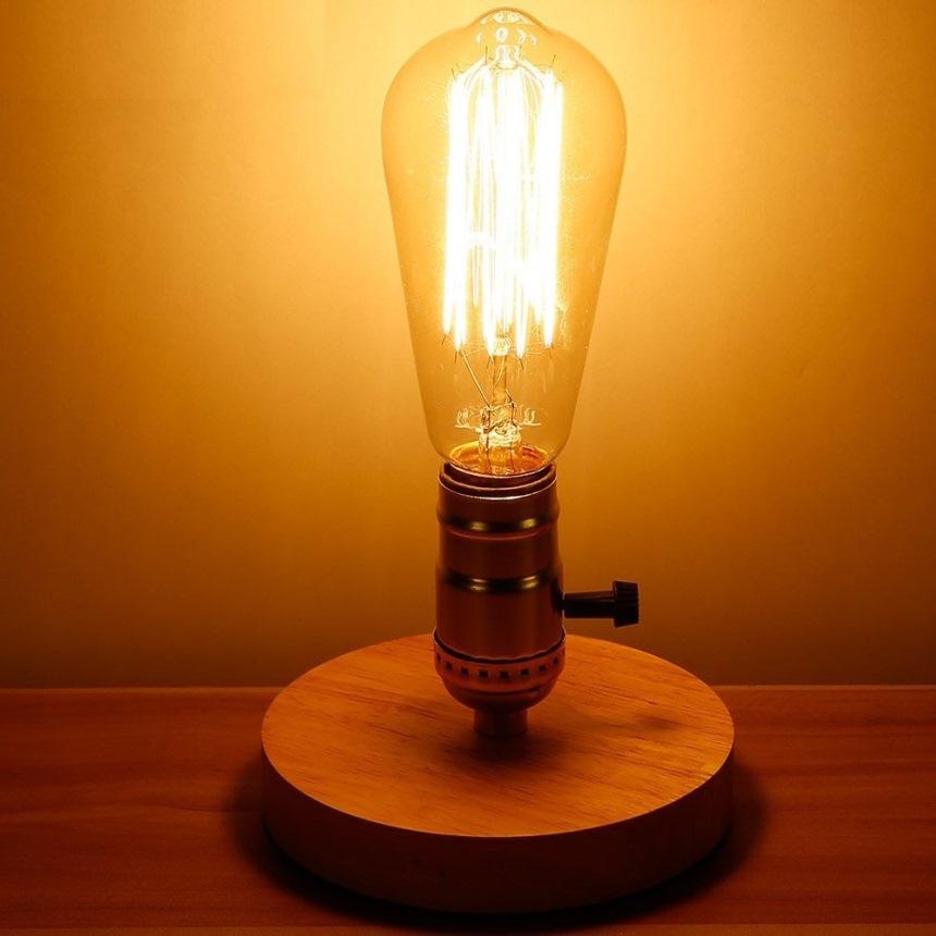 Винтажная филаментная лампа