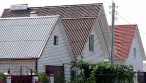 Шиферные крыши