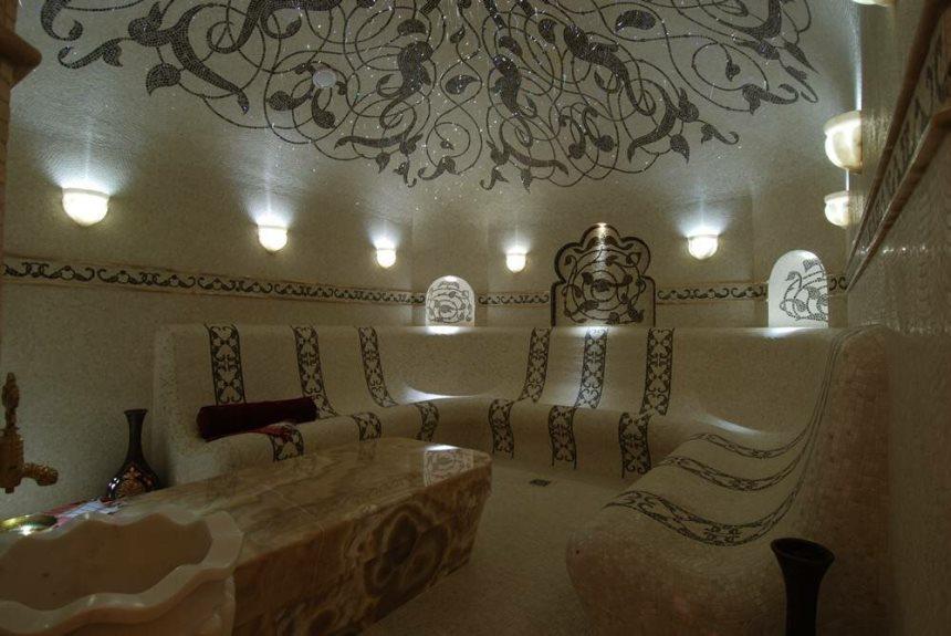 Освещение в турецкой бане