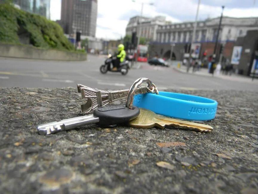 Потерял ключи от квартиры