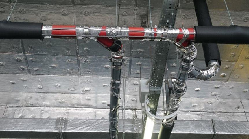 Греющий кабель и теплоизоляция