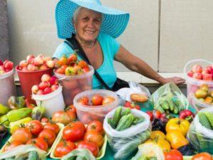 Продажа урожая и налог
